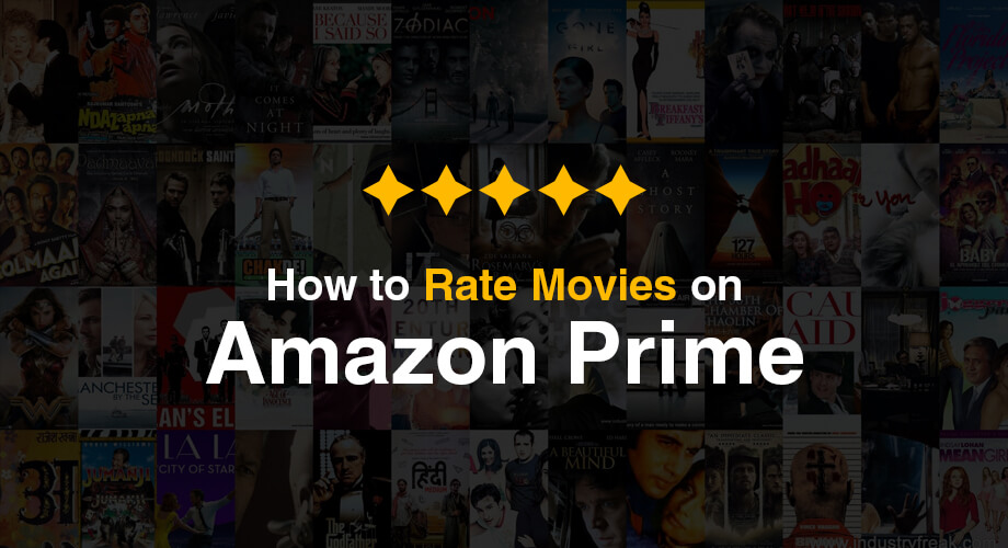 How to Rate Amazon Prime Movies