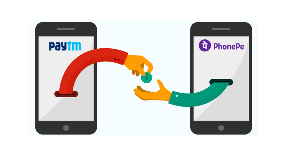 How to Transfer Money from Paytm to Phonepe