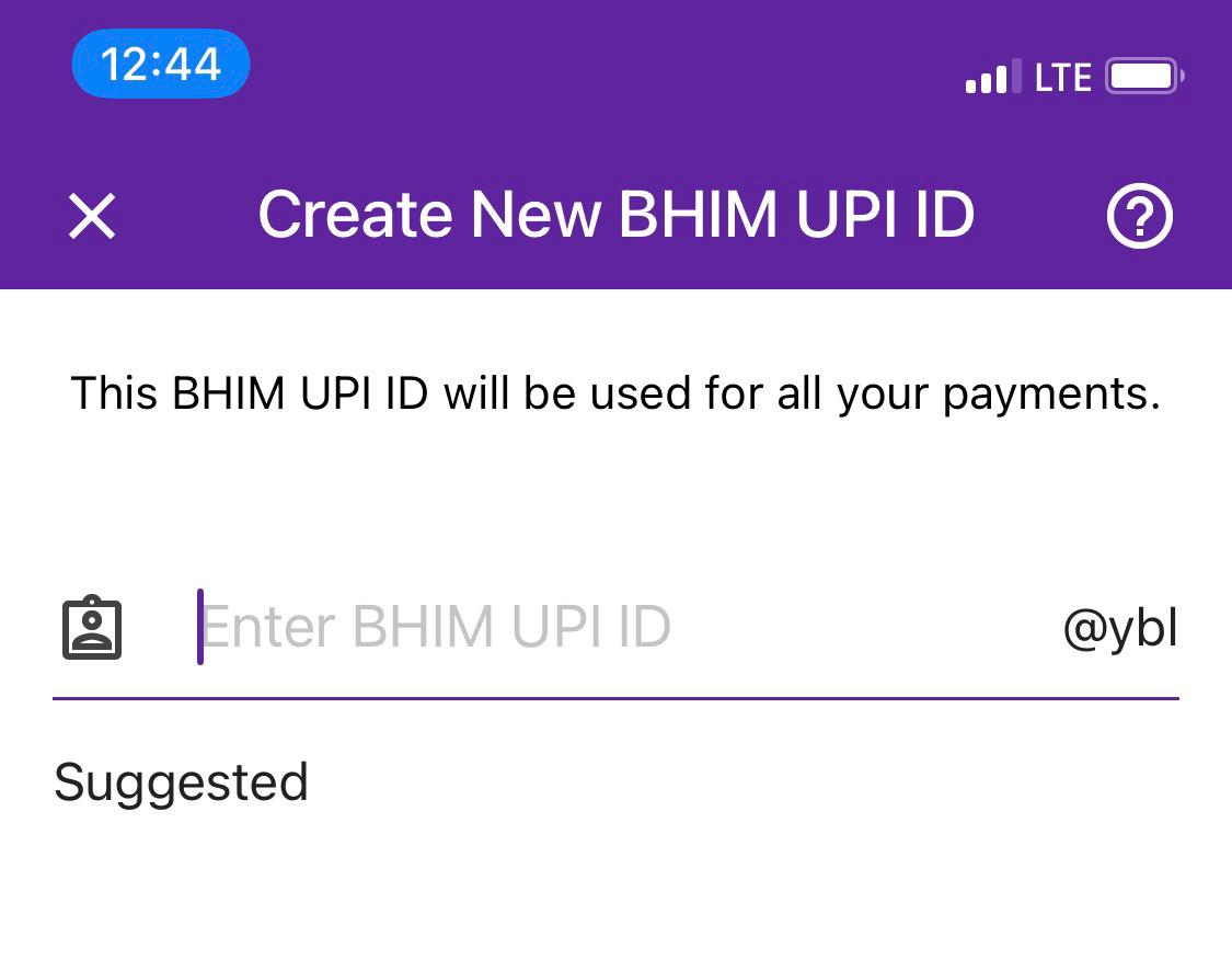 Phonepe BHIM UPI ID