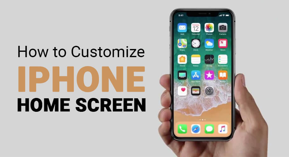 How to Customise iPhone Home Screen Layout