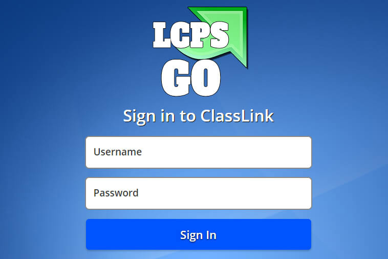 LCPSGo - Sign in to Classlink