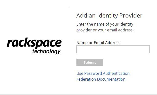 Rackspace Employee Login Page