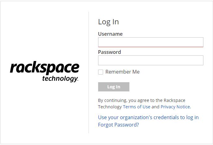 Rackspace Technology Login