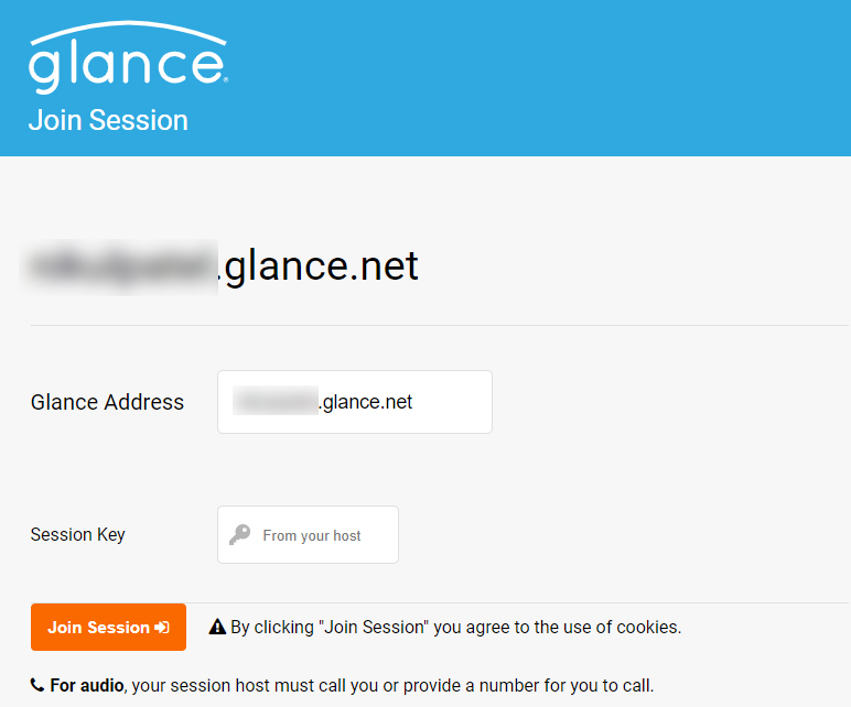 Join Glance Session