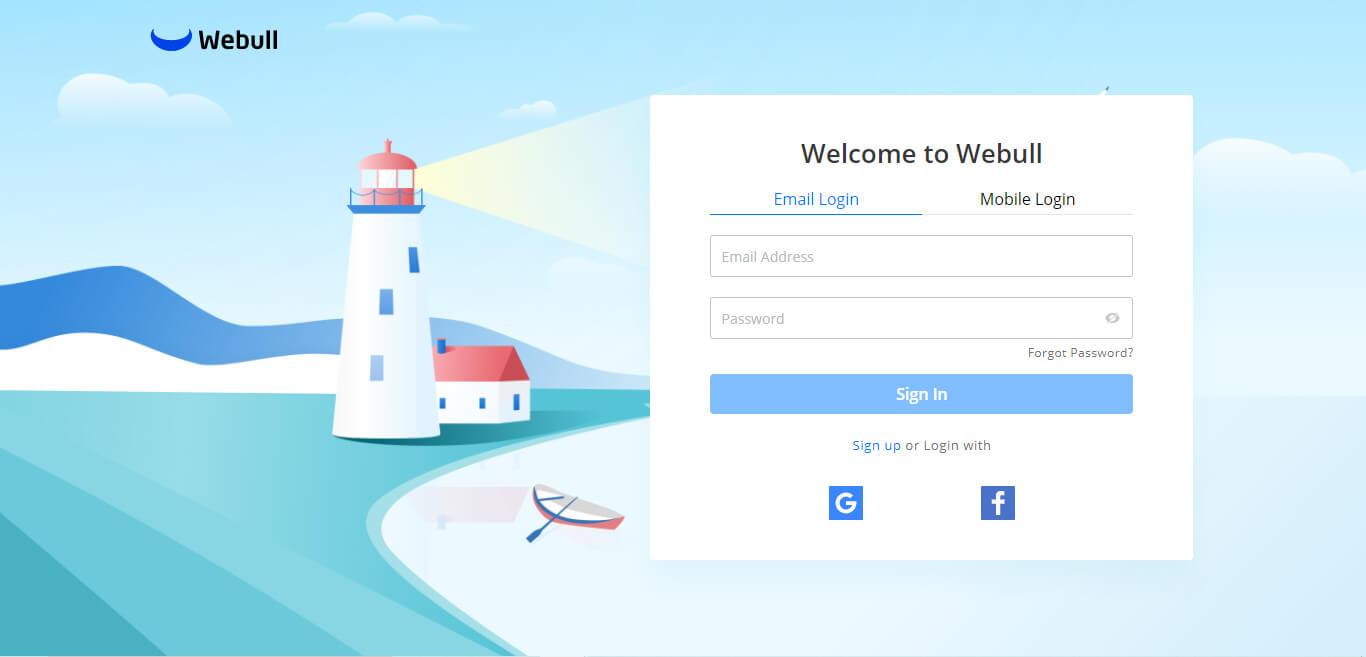 Webull Desktop Login