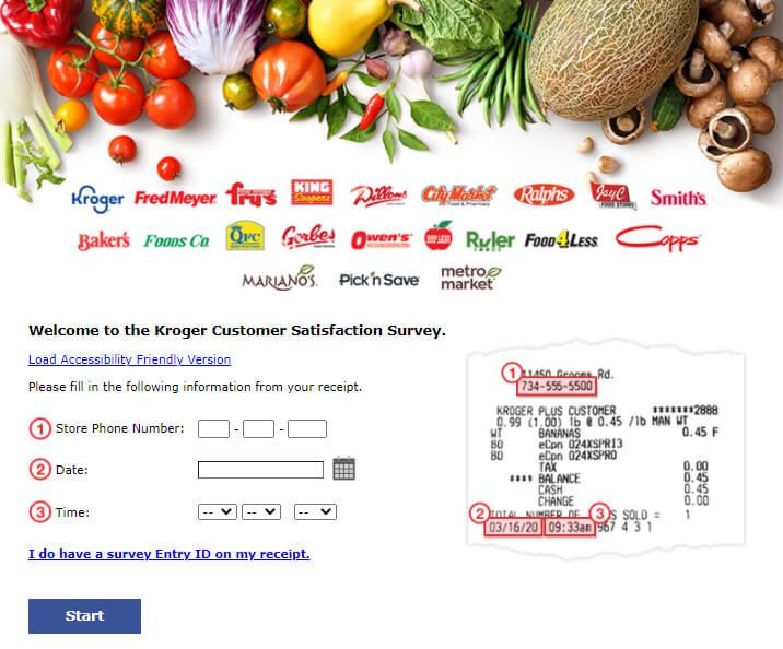 Steps to Take KrogerStoresFeedback Survey