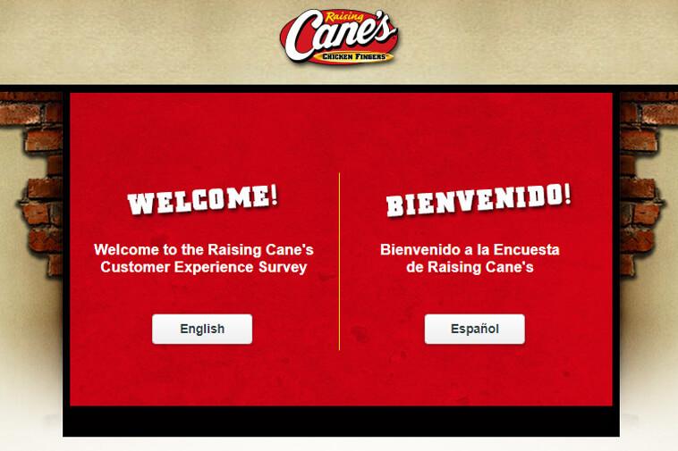 Raisingcanes.com Survey