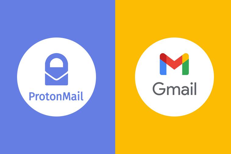 Protonmail vs Gmail