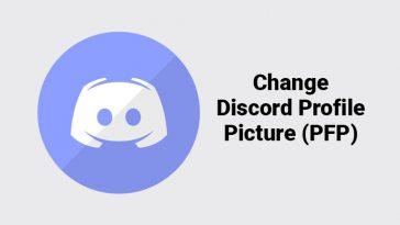 Change Discord Profile Picture
